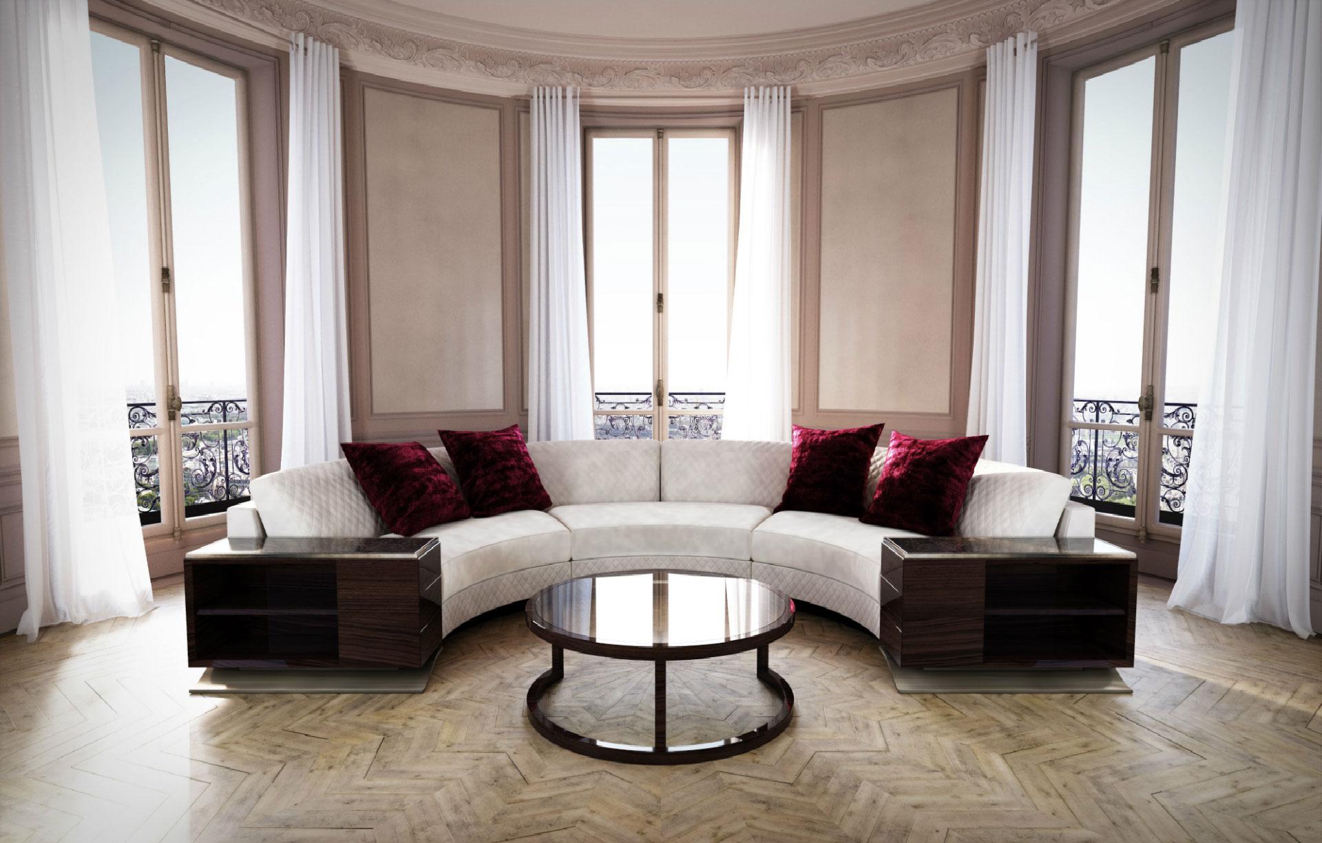 hugues chevalier - mobilier contemporain de luxe