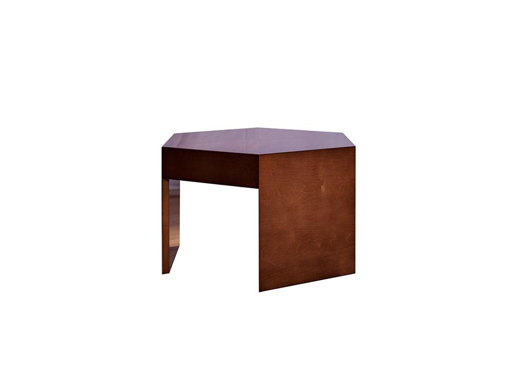 trio end table hugues chevalier. Black Bedroom Furniture Sets. Home Design Ideas