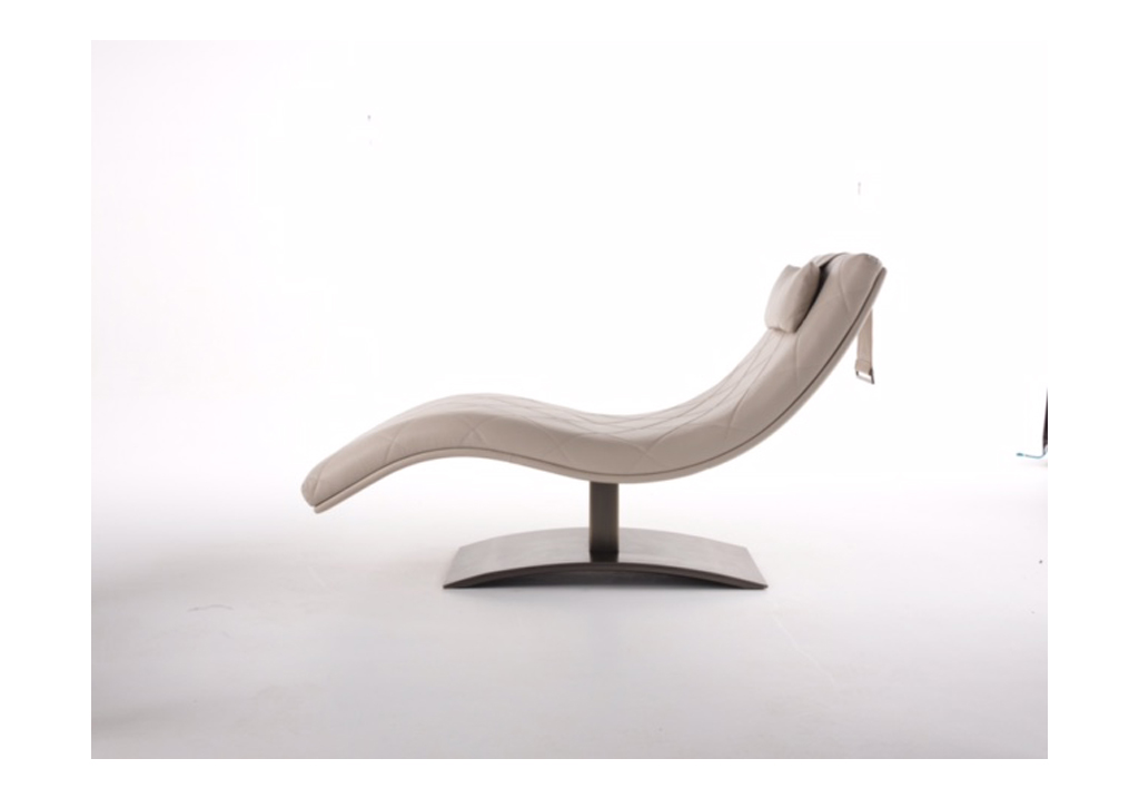Vend me chaise longue hugues chevalier for Chaise longue design cuir
