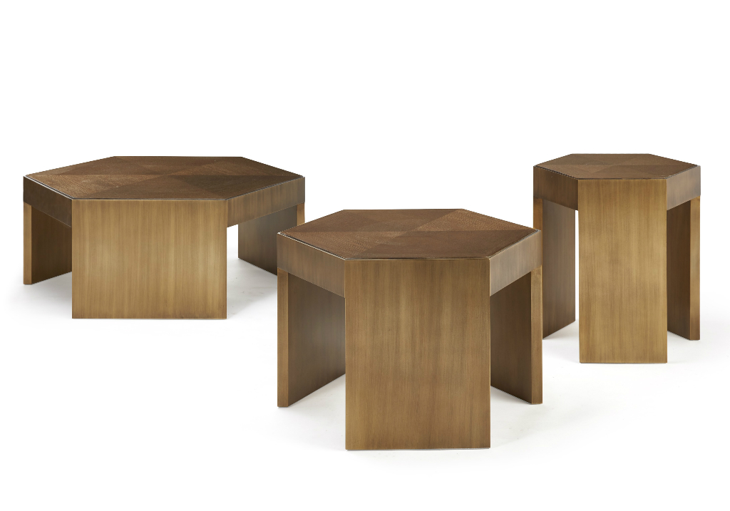 table basse bout de canap trio hugues chevalier. Black Bedroom Furniture Sets. Home Design Ideas