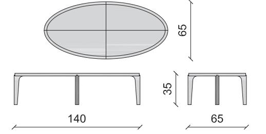 Table basse Vendome