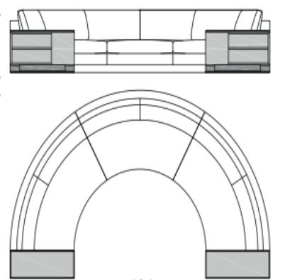 Canapé panoramique 397